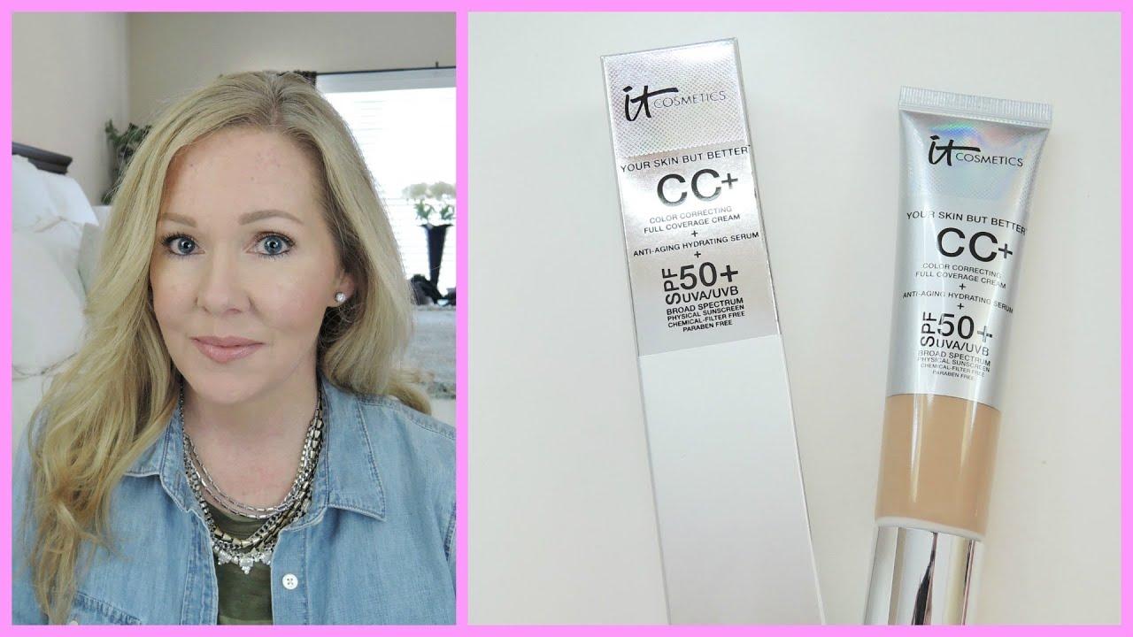 It Cosmetics CC Cream  Tips + Demo