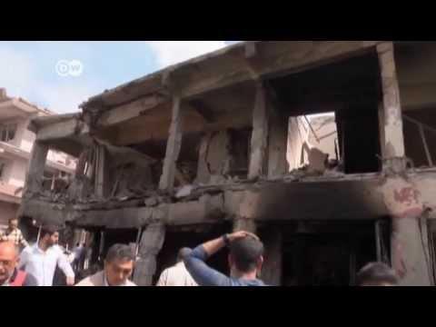 Explosionen in türkisch-syrischer Grenzstadt | Journal