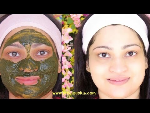 Moringa Leaf Powder Face Pack for an INSTANT GLOW | Calm Pimples & Rashes SUPER FAST |