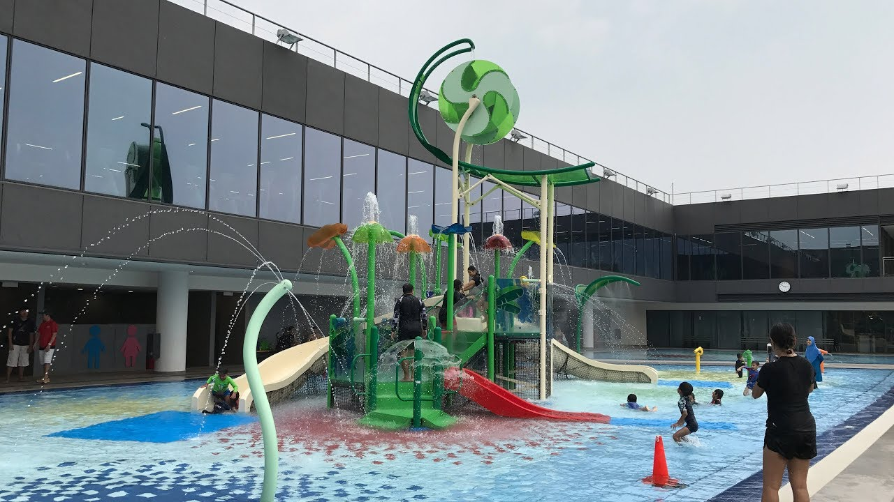 Our Tampines Hub Swimming Pools Youtube