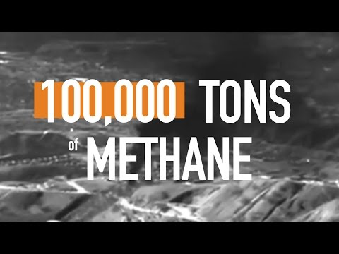 The worst recorded methane leak in US history