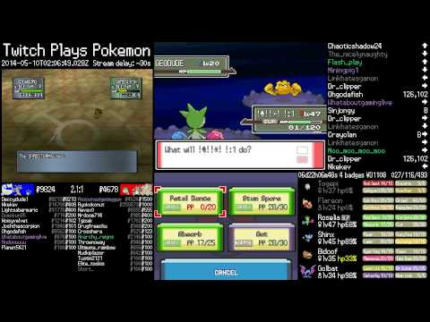 Shiny Geodude! - Twitch Plays Pokemon Official Highlights Platinum