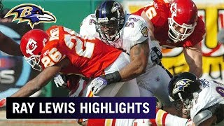 Biggest Hits of Ray Lewis's Hall of Fame Career
