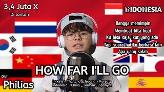 1 LAGU DI NYANYIKAN 8 BAHASA TERMASUK BAHASA INDONESIA