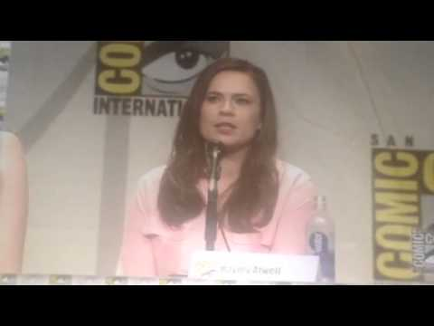Haley Atwell On Her Say In Agent Carter #SDCC