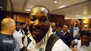 west indies celebrating winning against india t20 world cup 2016 2nd semi final