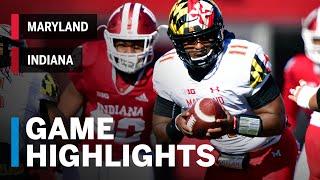 Highlights: Maryland Terrapins Vs. Indiana Hoosiers   Big Ten Football