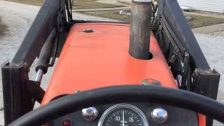 1969 allis chalmers 180 diesel tractor for sale