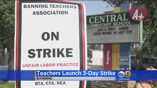 Banning Teachers On Strike For First Day Of School