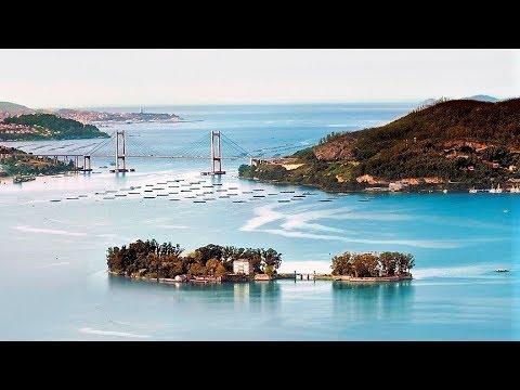 la isla de san simon redondela youtube
