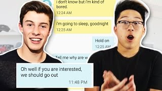 Pranking a GIRL WITH BOYFRIEND with Shawn Mendes 'Treat You Better' Lyrics!