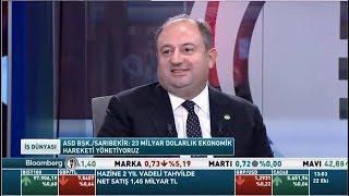 ASD Başkanı Zeki Sarıbekir BloombergHT İş Dünyası Programına Konuk Oldu