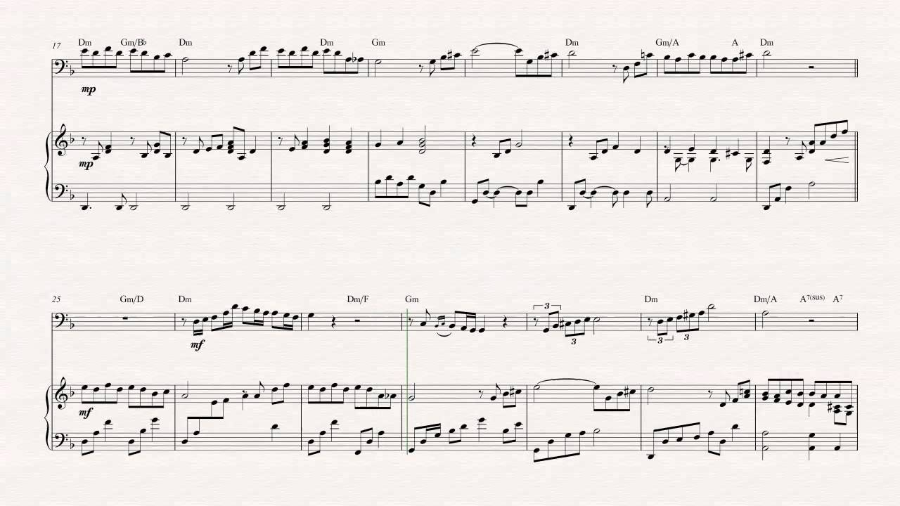 Game Of Love Sheets cello - the godfather - theme song - sheet music, chords, & vocals