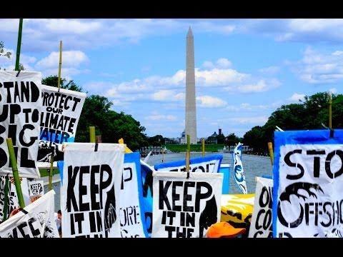Washington, D.C. Echoes a Growing Call to #KeepItInTheGround