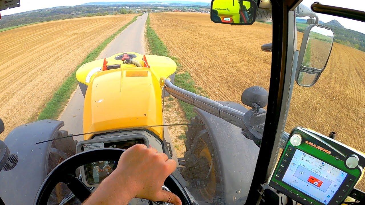 [GoPro] Cabview | JCB 4220 & Kverneland iXter 30 Meter | Herbizidbehandlung im Mais 🌽