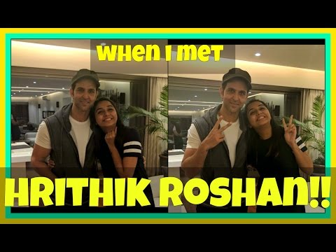 When I Had a Date with Hrithik Roshan! | Mostlysane