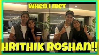 Hrithik Roshan invited me to his house !!