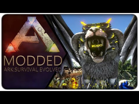 A Friendly Face at the Spawn of a new Adventure : Ark (Modded) - E01