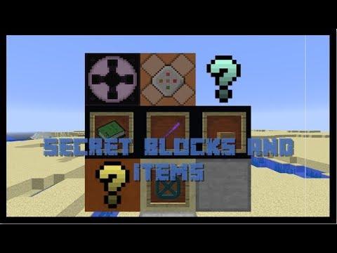 [EN] Minecraft - Secret Blocks & Items!