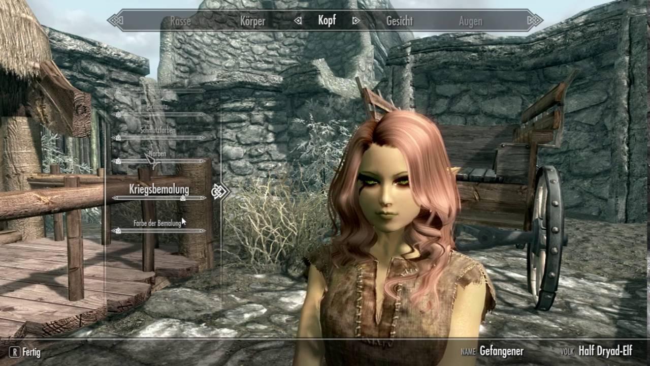 skyrim#5 Charakter erstellen - YouTube
