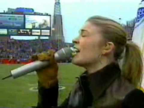2004 - LeAnn Rimes - National Anthem (NFL Colts vs Patriots)