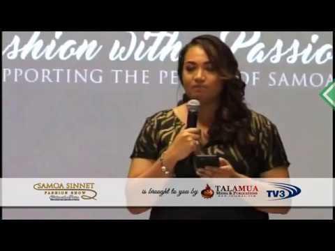 Samoa Sinnet Fashion Show 2017