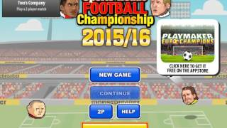 New Game SPORTS HEADS FOOTBALL CHAMPION 2015/16