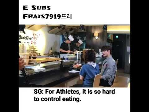 [Frais7919] Sunghoon /성훈/成勛 /Section TV /interview /스시노백쉐프/Sushi no Back chef/behind /