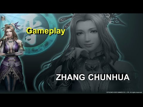 Dynasty Warriors 8 XL - PS4 - Zhang Chunhua Gameplay (Ultima