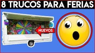 GANAR SIEMPRE  PELUCHES y PREMIOS en Máquinas y JUEGOS de Ferias | TRUCOS  para Vencer TRAMPAS 2019