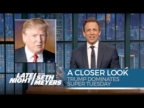 Trump Dominates Super Tuesday: A Closer Look