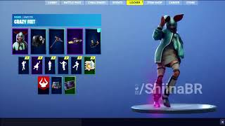 New LEAKED CRAZY FEET EMOTE Coming To FORTNITE