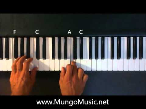 Whistle by Flo Rida - How To Play Whistle on Piano