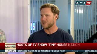 Hosts Of 'tiny House Nation' Push For Smaller Living Spaces In Ph