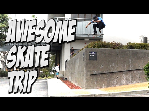 AMAZING SAN DIEGO SKATE TRIP Feat. VINNIE BANH & DYLAN JAEB - A DAY WITH NKA -
