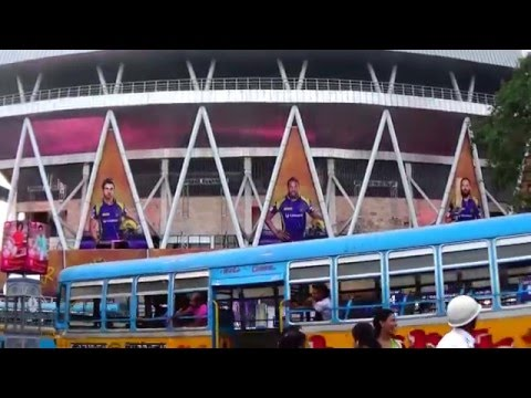 Magnificent Eden Gardens | The Home Of KKR - Kolkata Knight Riders Of IPL T20 Cricket Tournament