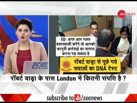 Priyanka backs Robert Vadra as ED questions over his 'links' to arms dealer and London properties