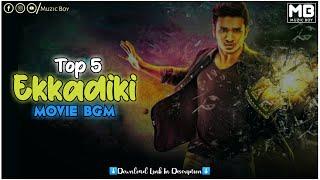 Top 5 Ekkadiki Movie Bgm   Heart Touching Ringtone   Muzic Boy   Download Link⬇️