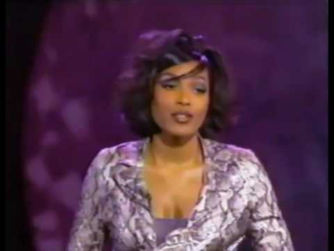 Nona Gaye accepting Soul Train Hall of Fame Award on behalf of Marvin Gaye