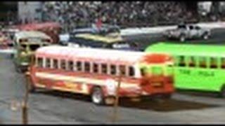 School Bus Figure Eight 5/28/16 Sportsdrome Speedway, Clarksville, IN