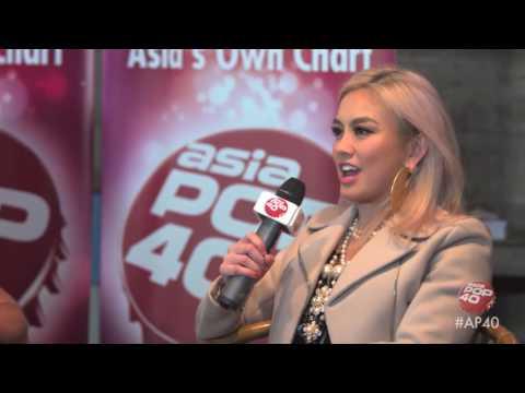 AGNEZ MO talks Sebuah Rasa and more on Asia Pop 40