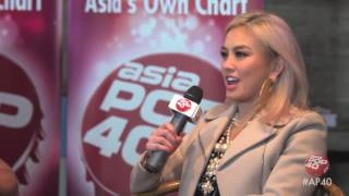 AGNEZ MO talks Sebuah Rasa and more on Asia Pop 40