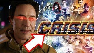 Reverse Flash in Crisis and Negative Flash FINALE Battle! - The Flash Season 6