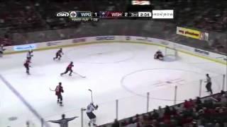 Dustin Byfuglien Goal From Center Ice