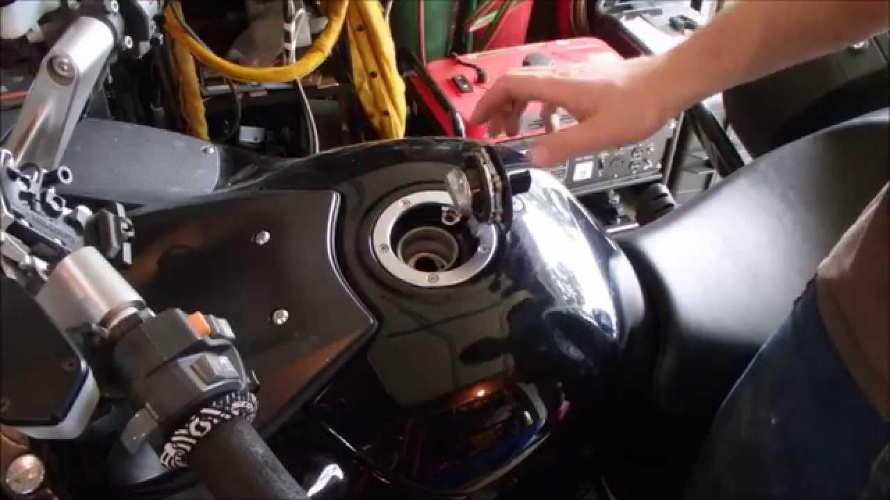 Kawasaki Gas Cap Lesson Youtube