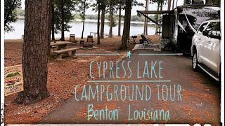 Cypress Black Bayou Campġround RV Loop | Benton, Louisiana | Our Favorite Local Campground Tour
