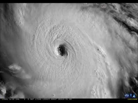 Hurricane Irma Continues to Strengthen
