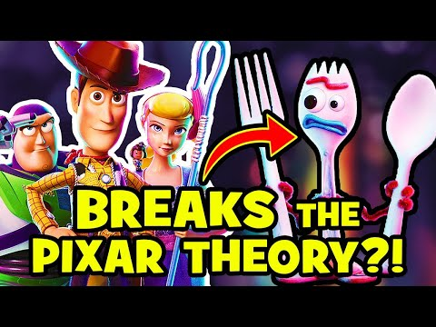 Toy Story 4 DEBUNKS Pixar Theory? NEW Easter Eggs REVEALED