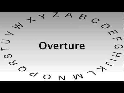 Definition overture