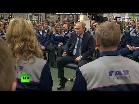 Путин — о сборной России по футболу: «Давно не видел красивой игры»
